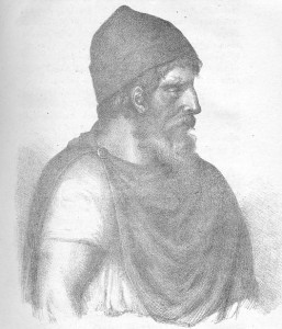 Decebalus or The Brave (originally named Diurpaneus) was a king of Dacia (ruled the Dacians 87–106)and is famous for fighting three wars
