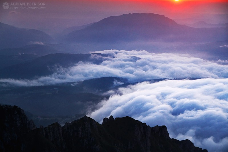 Mountains, Sun, Clouds, freedom, Below God