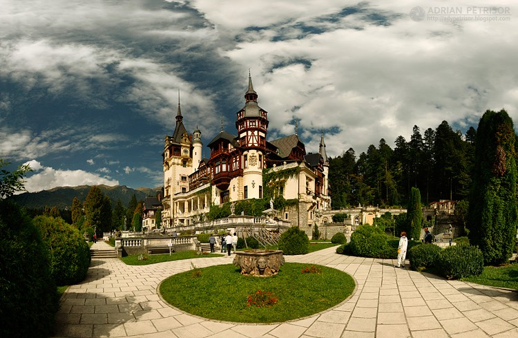 The House of Hohenzollern, Peles Castle, Sinaia, Romania