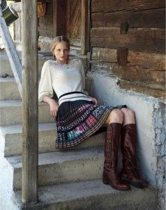Anthropologie Romanian fashion inspiration