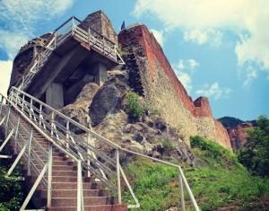 Day 8 Poenari Citadel Poenari Castle, Dracula Citadel, Arges