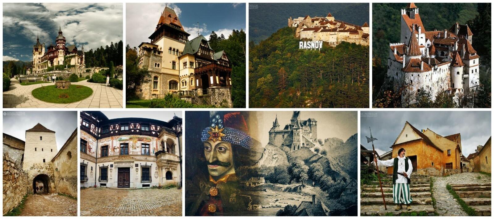 Castles trips, one day trip, Peles, Pelisor, Bran, Rasnov