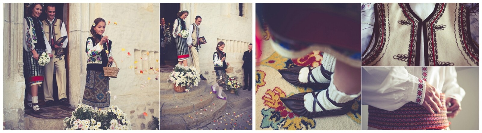 Romania wedding, flowers, emotions, little girl, pureness, Pure Romania, wedding, Traditions, Photo copyright Ovidiu Lesan