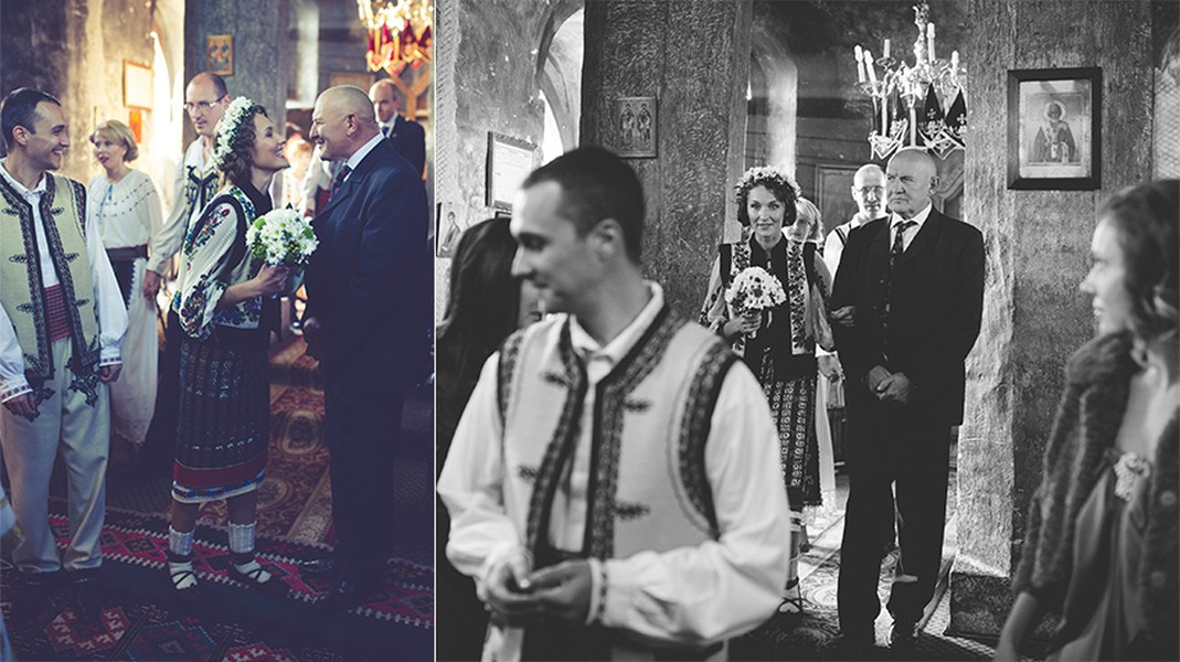 The Church Moments, Wedding in Romania, Photo copyright Ovidiu Lesan