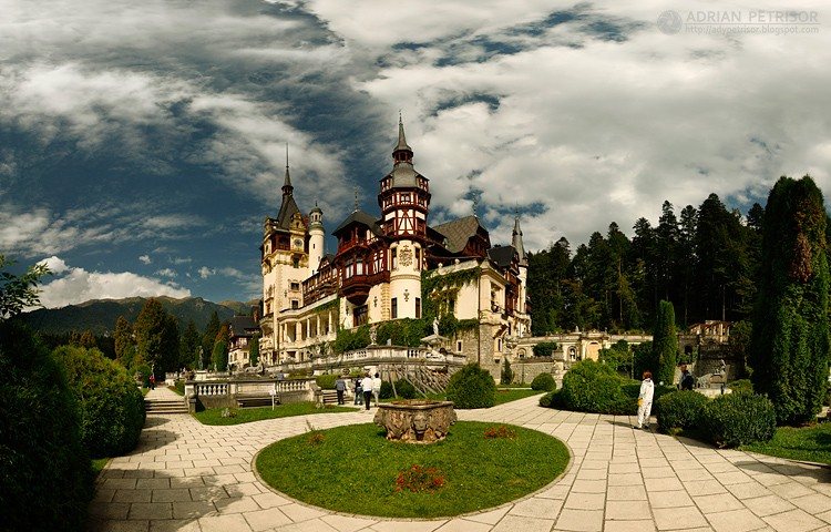 The House of Hohenzollern, Peles Castle, Sinaia, Romania, Photography Copyrights Adrian Petrisor